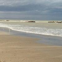 Photo taken at Spiaggia di Cattolica by Eva 乾. on 3/18/2013