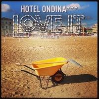 Photo taken at Spiaggia di Cattolica by Eva 乾. on 5/12/2013