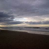 Photo taken at Spiaggia di Cattolica by Eva 乾. on 11/11/2012