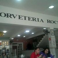 Photo taken at Sorveteria Rocha by Eduardo Nicolai d. on 10/14/2012