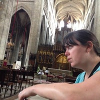 Photo taken at Cathédrale Sainte Marie by Julien C. on 7/12/2014