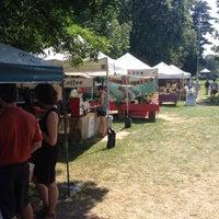 Photo taken at Brunswick Farmer's Market by Patrick M. on 9/5/2014