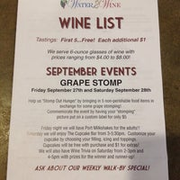 Photo taken at Water 2 Wine by Chris D. on 9/28/2013