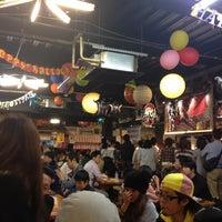 Photo taken at Hirome Ichiba by Boogie Noriko on 10/7/2012