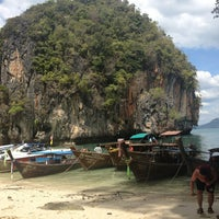 Photo taken at Lao Lading Island by UDV on 2/9/2013