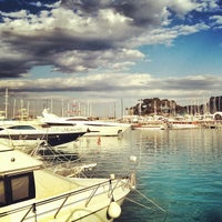 Photo taken at Kemer Türkiz Marina by Ali H. on 3/17/2013
