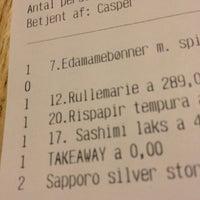Photo taken at Dondon Sushi by Erik Korsvik on 1/18/2013