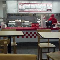 Photo taken at Five Guys by Stephen F. on 1/27/2013