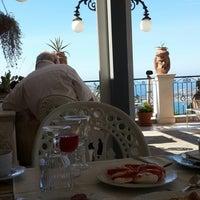 Photo taken at Taodomus Hotel Taormina by Yılmaz Y. on 7/28/2014
