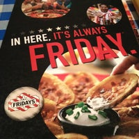 Photo taken at T.G.I. Friday's by Sofia H. on 1/4/2013