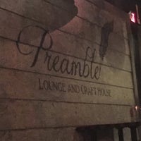 Photo taken at Preamble Lounge & Craft House by Hunter G. on 7/16/2016