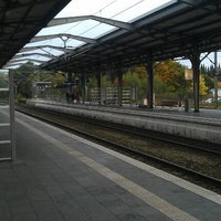 Photo taken at Bahnhof Rendsburg by Michael S. on 10/3/2012