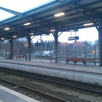 Photo taken at Bahnhof Rendsburg by Michael S. on 12/22/2012