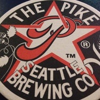 Photo taken at Pike Brewing Company by Douglas G. on 4/19/2013