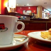 Photo taken at Bus Café Boavista by Carlos P. on 11/22/2012