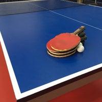 Photo taken at Koza Sports Ping Pong Hall by Nikos on 4/5/2017