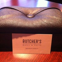 Photo taken at Butcher's Grill & Pasta by Tomas I. on 12/12/2013