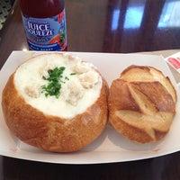 Photo taken at Boudin Bakery Café Macy's Kiosk by Jeff L. on 9/27/2012
