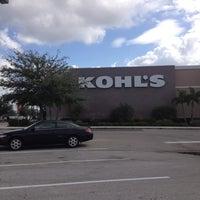 Photo taken at Kohl's Brandon by J H. on 10/24/2012
