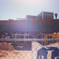 Photo taken at Downtown Container Park by Garth B. on 9/21/2013
