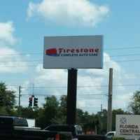 Photo taken at Firestone Complete Auto Care by Tomas on 8/20/2014