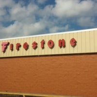 Photo taken at Firestone Complete Auto Care by Tomas on 8/29/2014