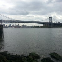 Photo taken at Grand Ferry Park by Tomas on 6/8/2013