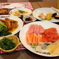 Photo taken at Oishi Buffet by Sakchai P. on 7/8/2013