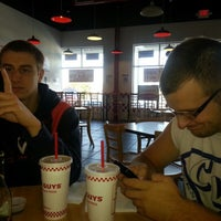 Photo taken at Five Guys by Claire C. on 10/16/2012