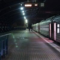 Снимок сделан в Платформа Маленковская пользователем Евгений П. 10/27/2012