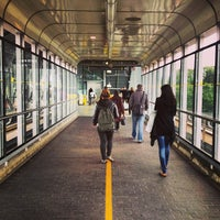 Photo taken at Commercial - Broadway SkyTrain Station by Stephanie H. on 5/13/2013