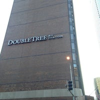 Photo taken at DoubleTree by Hilton Hotel Chicago - Magnificent Mile by Boris B. on 1/2/2013