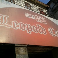 Photo taken at Leopold Café by Krishna R. on 4/14/2013