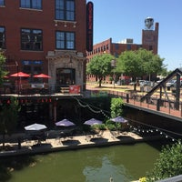 Photo taken at Bricktown District by Madster on 7/17/2016