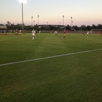 Photo taken at John Crain Field at the OU Soccer Complex by Madster on 9/27/2014