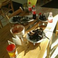 Photo taken at Restaurant Galdur -Hólmavík by Áki G. K. on 10/14/2012