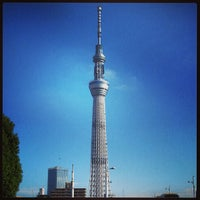 Photo taken at Tokyo Skytree by Hutchy on 5/27/2013