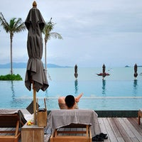 Photo taken at Hansar Samui Resort & Spa by Hutchy on 4/10/2013