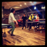 Photo taken at Shibuya Ping Pong Club by limma on 11/15/2013
