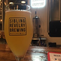 Photo taken at Sibling Revelry Brewing by Natalie B. on 8/6/2017