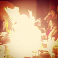 Photo taken at Yamato Japanese Steakhouse by David A. on 12/8/2012