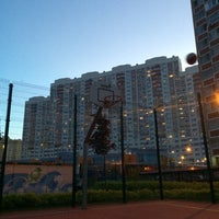 Photo taken at Детская площадка by Andrei K. on 5/20/2014