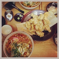 Photo taken at 가미우동 (神うどん) by habin j. on 4/13/2014