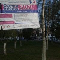 Photo taken at Parque Gral. Vicente Guerrero (Area de Juegos) by Javier N. on 10/6/2012