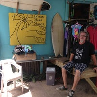 Photo taken at Rincon Surf Shack by P-Dub on 3/5/2014