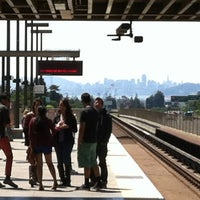 Photo taken at Rockridge BART Station by Tracy T. on 4/27/2013