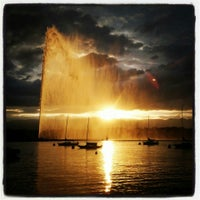 6/21/2013にMatthias G.がJet d'Eau de Genèveで撮った写真
