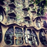 Photo taken at Casa Batlló by Сюзанна on 6/9/2013