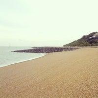 Photo taken at Folkestone Seafront by Radek S. on 10/12/2013