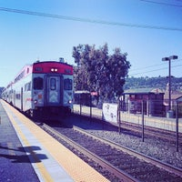 Photo taken at Hillsdale Caltrain Station by Radek S. on 5/12/2013